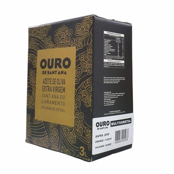 Azeite Ouro de Santana Multivarietal 3l