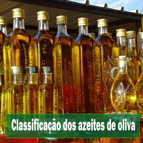 Classificação dos azeites de oliva