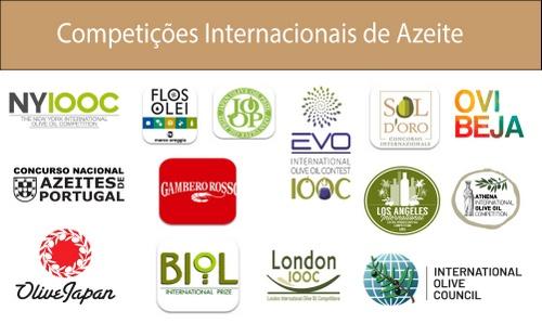 Competições internacionais de azeite