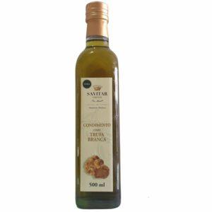 condimento de azeite com trufa savitar 500ml