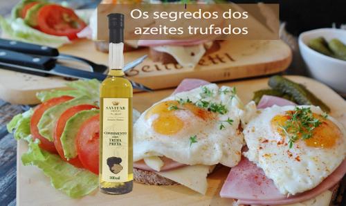 Os segredos dos azeites trufados