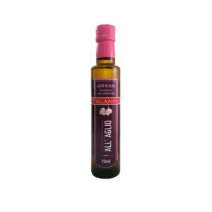 azeite de oliva com alho paganini 250ml