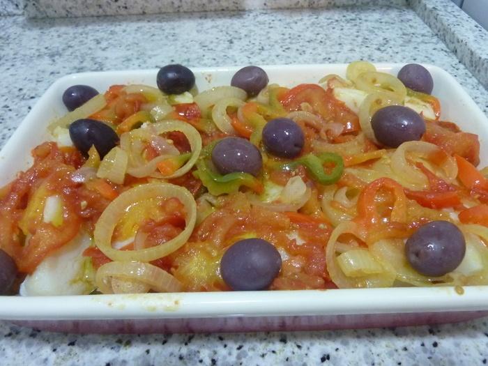 Receita Bacalhau a Espanhola