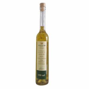 condimento de azeite com salvia e alecrim 100ml