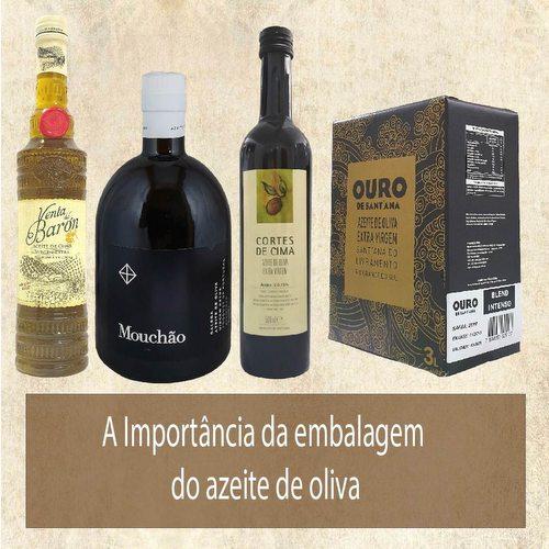 A Embalagem ideal do azeite de oliva