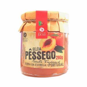 Geleia de pêssego com Açucar
